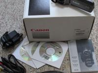 Canon Vixia HF R200 video camera. Price includes AC