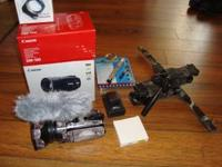 I have a Canon VIXIA HFS 11 for sale. It comes with a