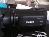 Excellent condition Canon Camcorder, Model Vixia HFG10.