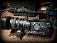 Canon XH A1 HDV Video Camera; Includes battery pack,
