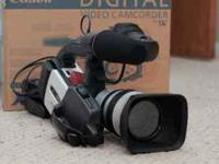 I have a an EXCELLENT Canon XL1s miniDV camera for
