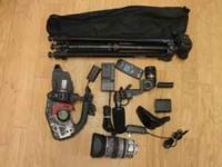 Canon XL1S Camcorder w/ Extras! Call/text me at  The