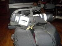 This Camcorder is in perfect condition, with brand new