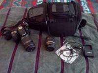 Selling my excellent condition Canon Xsi DSLR with 2