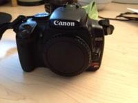 Canon Xti digital slr Shutter count is about 20000 In