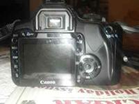 I have a Canon Digital Rebel XTi for sale. Comes with