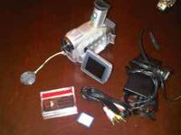 I have a Canon ZR50 Video Camera for sale. It works