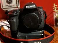 Barely used but well protected Canon EOS 7D with