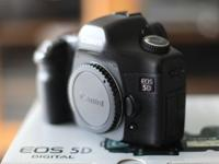 Canon 5D, good condition, owned since 2008. Approx 32k