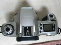 Auto focus film camera, clean, $65 body only, $120 with