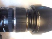 Canon EF-S 17-55mm f/2.8 IS USM - asking $700. In great