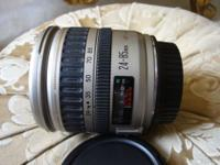 CANON EF zoom 24-85mm f3.5-4.5 USM high quality lens