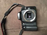 A fully functional Canon 30D with a 18-55mm & a