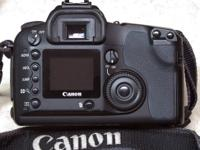 Canon EOS D30 6 Tiffen Filters and Quantray Bag ++