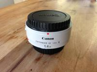 Offering a fresh condition Canon Extender EF 1.4 X III