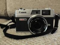 Offering this good little canon rangefinder for 50$