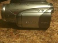 Used Canon HD HV20 Video Camera works great retail