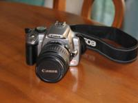 I am selling my Canon Rebel XT because I got a new