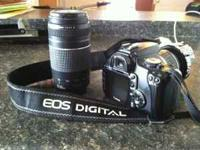 I have for sale a Canon Rebel XTI. I bought this camera