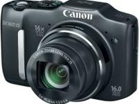 Selling a Canon SX160 HD asking 75 firm comes with