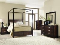 Canopy bed room set $1249FINANCING AVAILABLEFurniture