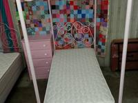 This princess bed is brand new. It has the canopy and
