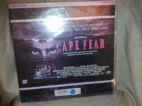 Today we have for you a Cape Fear 2 Disc Set (Laserdisc