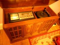 Capehart stereo console from mid-1970's. Always in a