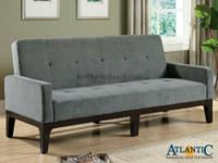Enjoy contemporary style with this sofa bed in your