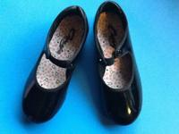 Capezio Black Tap Dance Shoes in size 12from a smoke