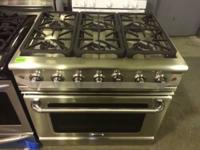 "Selling a gently used Capital 36"" six burner all gas"