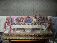 Capodimonte Large Last Supper Sculpture Imported by