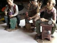 HELLO; THIS THREE OLD MEN ARE SIGNED BY A.BENNI 9""
