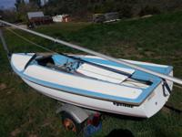 1982 Capri Cyclone Sailboat, 13 foot, Sail in great