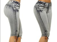 Cloth/Shoes/Accessories: Women Type: Jeans Capris ,