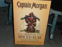 CAPTAIN MORGAN SPICED RUM 3D Wall Art !! PERFECT for
