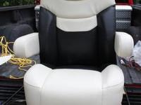 I have two helm chairs, both with arm rests. The tan