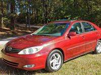 THIS 2004 TOYOTA CAMRY XLE IS LOADED!!! ALL THE OPTIONS