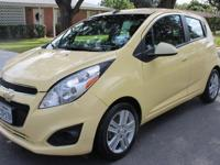2013 CHEVROLET SPARK 17K milles 4 clyd COLD A/C
