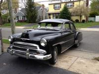1951 chevy deluxe 28,594 miles many factory options