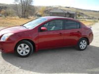 2011 Nissan Sentra-This is a Nissan Sentra with LOW