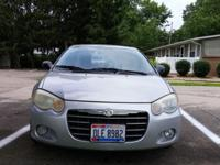 2004 Chrysler Sebring Limited. Has a clear title.