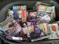Lots of car and truck magazines .25 each Call Shawn  Or