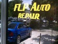 FLP Auto Repair now offers custom vinyl sticker cutting