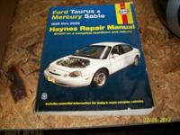 SELLING A CAR BOOK FOR TAURAS FOR 15.00 SERIOUS