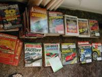 My collection of car magazines dating back from 1957 to