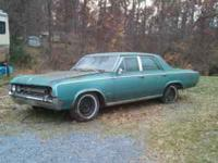 1964 oldsmobile F-85. 4 door. No title for parts only..