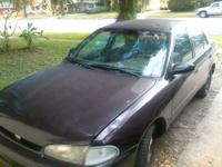 1996 Geo Prizm. Good engine no oil leaks it is a 5