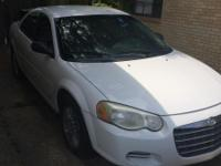 Chrysler Sebring 2006 sale as is. Only need head