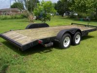 We have a Car Hauler Trailer in excellent condition now
